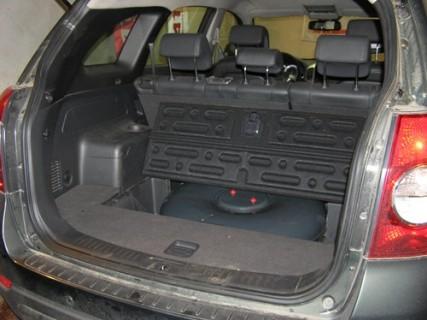 Установка ГБО 4-го поколения (газ) на Chevrolet Captiva