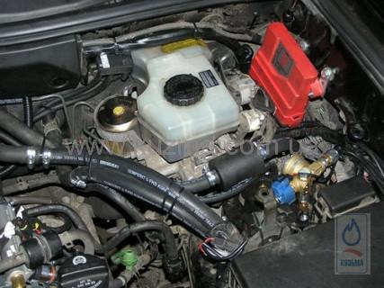 Установка ГБО 4 на Lexus GX 470