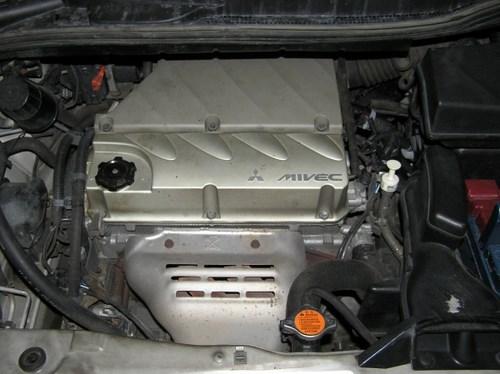 Установка ГБО 4-го поколения на Mitsubishi Grandis (Мицубиси Грандис)