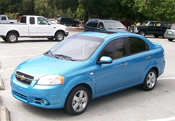 Установка ГБО на Chevrolet Aveo