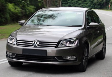 Установка ГБО на Volkswagen Passat B7 1.8 TSI