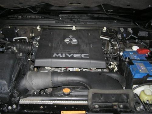 Установка ГБО 4-го поколения Mitsubishi Pajero Wagon V6 3,8 в Киеве