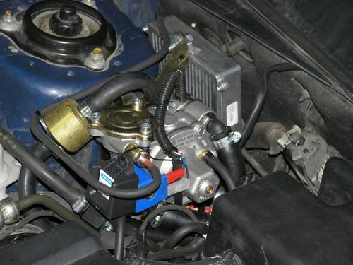 Установка ГБО 4-го поколения «Zenit» на Chevrolet Evanda (Шевроле Эванда)