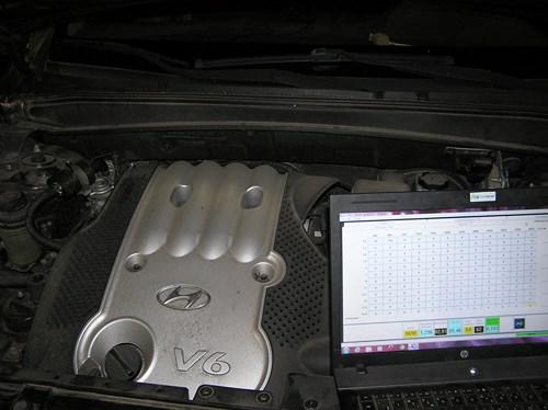 Установка ГБО 4-го поколения «Zenit» на Hyundai Santa Fe (Хюндай Санта Фе)