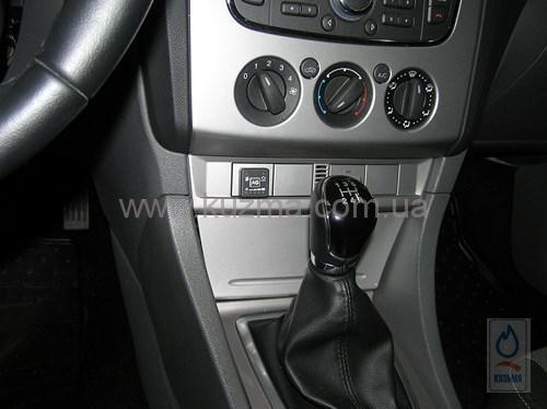 Установка ГБО 4-го поколения Ford Focus. Газ на Форд Фокус.