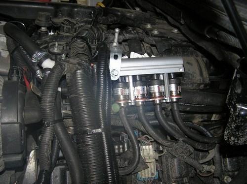 """Установка ГБО 4-го поколения """"Zenit PRO OBD"""" на Cadillac Escalade (Кадиллак Эскалейд)"""