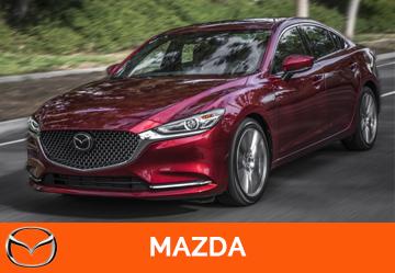 Установка ГБО на Mazda