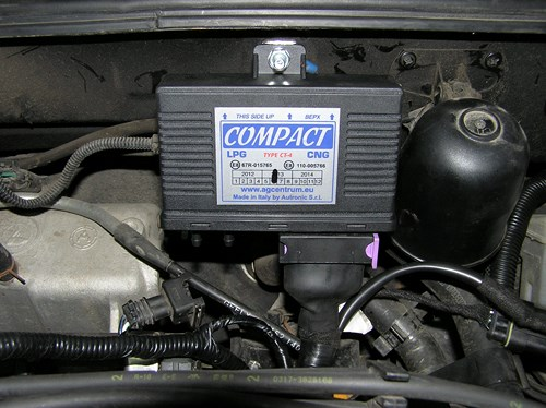 ГБО 4-го поколения «Zenit Compact» на Geely MK (Джили МК)