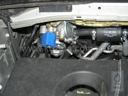 Установка ГБО 4 на Ford Mondeo