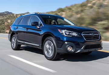 Установка ГБО на Subaru Outback 3.0