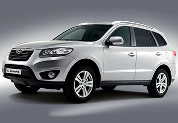 ГБО на Hyundai Santa Fe