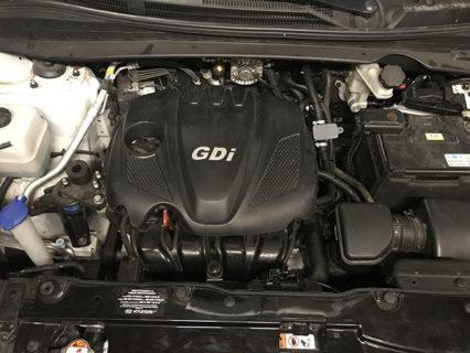 Подкапотное пространство Hyundai Tucson 2.4 GDI