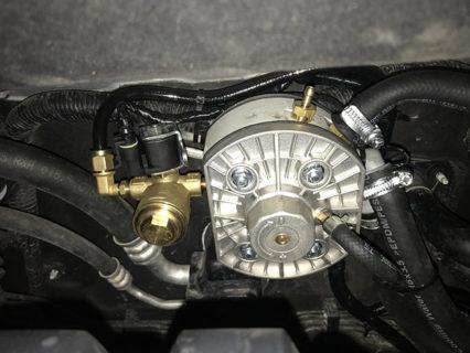 ГБО на Hyundai Tucson 2.4 GDI